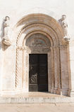 St阿纳斯塔西娅教会门 免版税库存图片