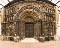 St雅各布修道院入口雷根斯堡 图库摄影