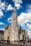 St马加什教堂在布达佩斯 库存照片