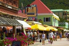 St马尔滕,加勒比 免版税图库摄影