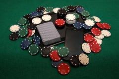 21st århundrade - online-kasino Arkivfoto