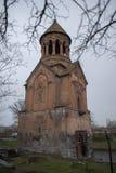 St Święta matka bóg kościół w deszczowym dniu Zdjęcia Royalty Free