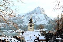 ST Βόλφγκανγκ, Αυστρία Στοκ Εικόνες