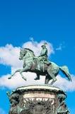 ST ΠΕΤΡΟΥΠΟΛΗ, ΡΩΣΙΑ - 26 ΙΟΥΛΊΟΥ 2015: Μνημείο στον αυτοκράτορα Nich στοκ φωτογραφία
