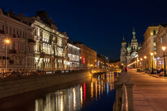 ST Πετρούπολη Στοκ εικόνα με δικαίωμα ελεύθερης χρήσης
