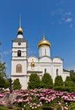 St Борис и собор Gleb (XVI c ) в Dmitrov, Россия стоковые изображения rf