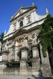 st вероисповедания s krakow peter Польши церков Стоковая Фотография RF