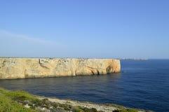 St Винсент накидки (конец мира) Стоковое фото RF