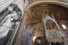 St. Джон Lateran в Рим стоковые изображения