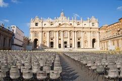 st Италии peter rome s базилики Стоковое Фото