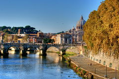 st Италии peter rome s купола Стоковое Изображение RF