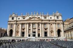st Италии peter rome s церков квадратный Стоковые Изображения RF