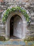 St как раз в церков Roseland в Корнуолле Англии Великобритании Стоковое фото RF