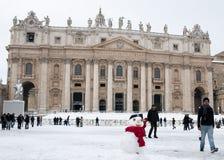 st квадрата снеговика peter s стоковые изображения rf