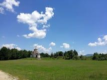 St Константин и Elena церков, Vratnica, македония стоковое изображение rf