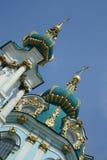 st куполка s церков Андрюа стоковое изображение