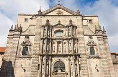 St. Мартин Pinario в Сантьяго de Compostela стоковое фото rf