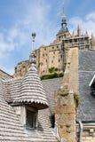 St Мишель Mont, Нормандия, Франция Стоковое Изображение