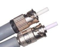 st оптического волокна разъемов Стоковое Изображение RF