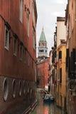 St отметит башню, Венецию Италию Стоковые Изображения RF