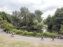 st парка james london стоковые изображения
