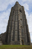 st Паыля peter lavenham церков Стоковое Фото
