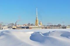 st Паыля peter petersburg крепости Стоковые Фотографии RF