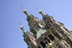 st Паыля peter s церков Стоковая Фотография