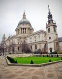 st Паыля s собора Стоковые Фото