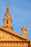 st Паыля s части фасада собора стоковое фото
