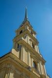st Паыля peter petersburg России собора Стоковые Фото