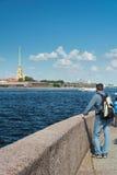 st Паыля peter petersburg России собора Стоковая Фотография