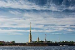 st Паыля peter petersburg России собора Стоковая Фотография RF