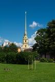 st Паыля peter petersburg России собора Стоковые Изображения RF