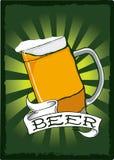 st плаката пинты patricks дня пива иллюстрация штока