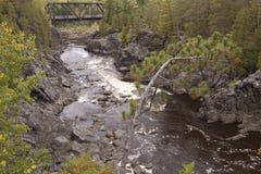 st реки louis моста сценарный стоковые фото