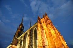 st республики Паыля peter собора brno чехословакский Стоковое Фото