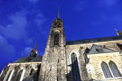 st республики Паыля peter собора brno чехословакский Стоковые Фото