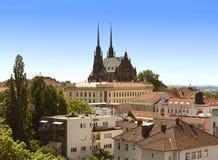 st республики Паыля peter собора brno чехословакский Стоковое фото RF