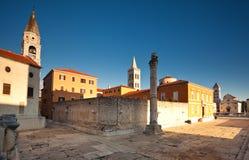 st руин donat церков римский стоковое изображение rf