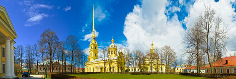 st святой isaac petersburg России s куполка собора Стоковая Фотография RF
