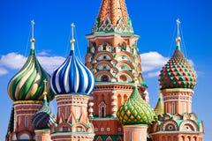 st собора красный s базилика квадратный Стоковое Фото