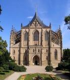 st собора barbora Стоковые Фотографии RF