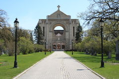 st собора boniface стоковая фотография rf