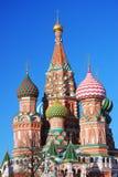 St. Собор базилика, красный квадрат, Москва, Россия. Стоковые Фотографии RF
