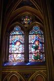 st стекла chapelles запятнал Стоковая Фотография RF