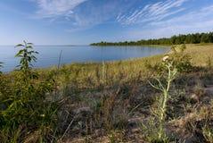 St. Существенный залив, парк штата De Путешествовать, Мичиган Стоковые Фото