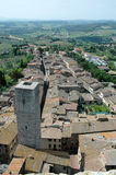 st Тоскана Италии gimignano Стоковые Фотографии RF