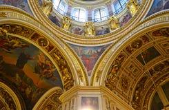 St.以撒的大教堂 库存照片