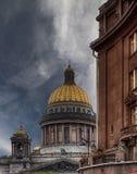 St.以撒的大教堂 免版税库存照片